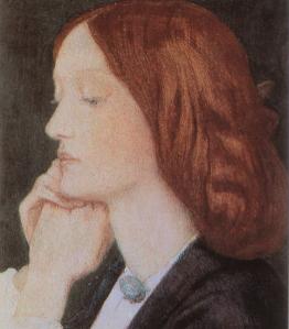 """Dante Gabriel Rossetti, """"Elizabeth Siddal"""", 1854"""