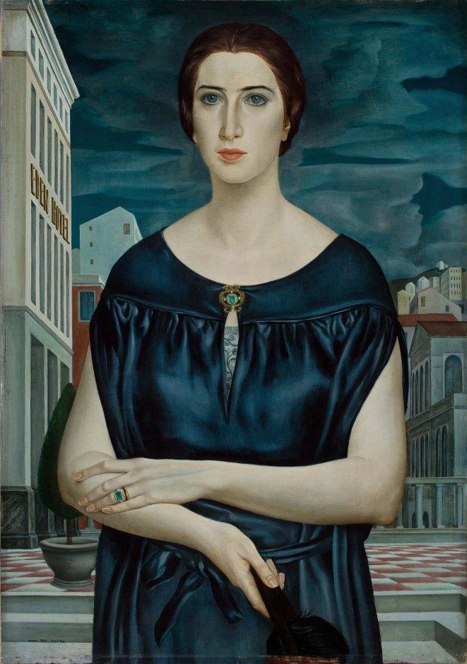 "Ubaldo Oppi, ""La giovane sposa"", 1922-24 (Padova, Musei Civici)"