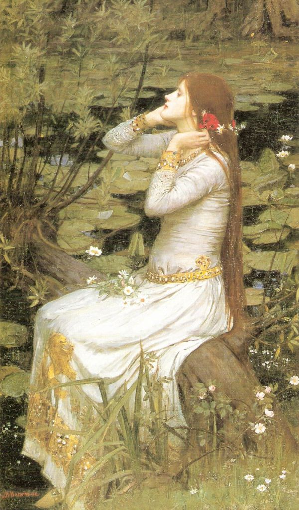 "John William Waterhouse, ""Ofelia"", 1894 (Collezione privata)"