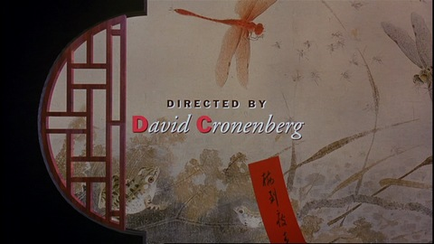 "David Cronenberg, ""M. Butterfly"", 1993<br />Credits: M. Butterfly © Geffen Pictures 1993"