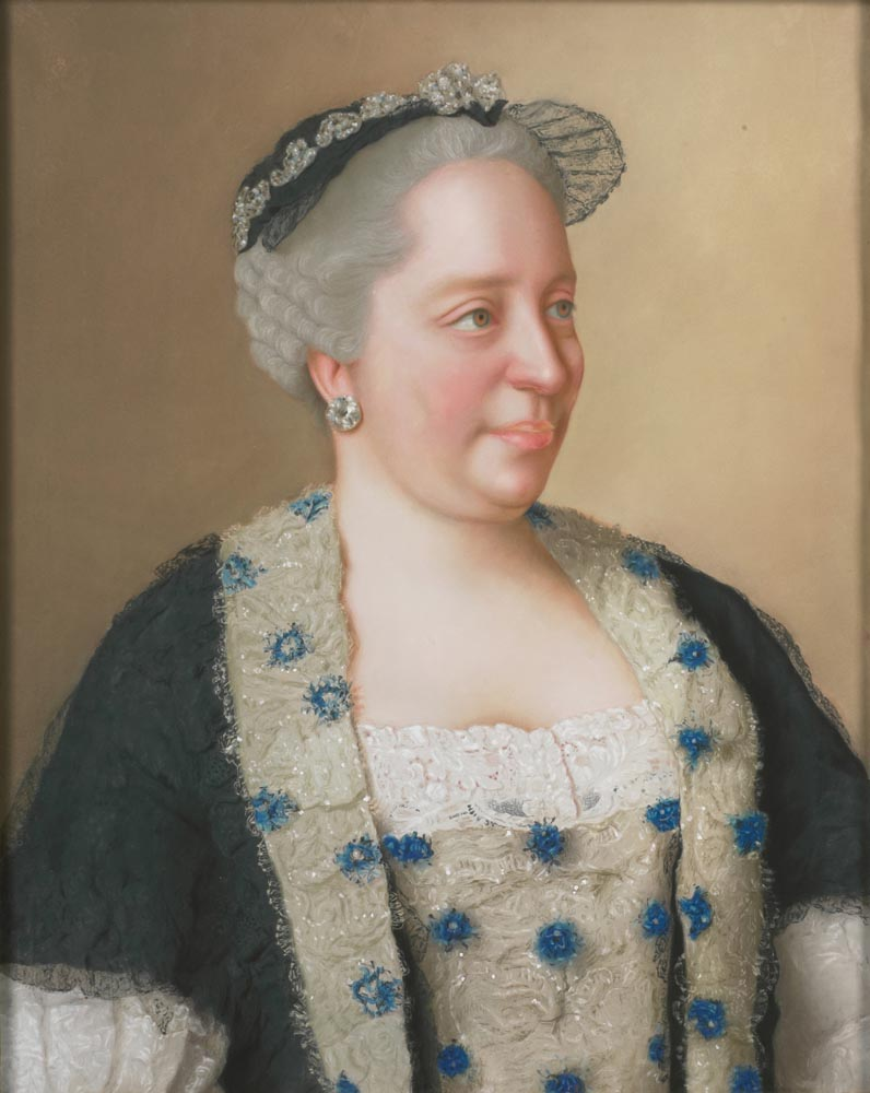 "Jean-Étienne Liotard, ""Maria Teresa d'Austria"", 1762 (collezione privata)"