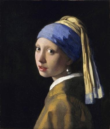 "Jan Vermeer, ""Ragazza col turbante"", 1665-66 (L'Aia, Mauritshuis)"
