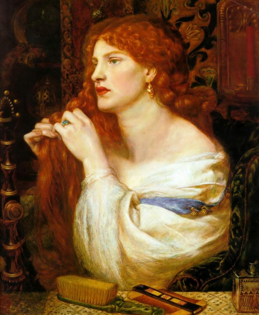 Dante Gabriel Rossetti, Aurelia [Fanny Cornforth], 1879 (Londra, Tate Gallery)