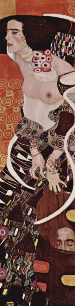 "Gustav Klimt, ""Giuditta II"", 1909 (Venezia, Galleria internazionale d'arte moderna)"