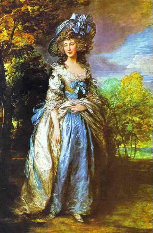 lady sheffield gainsborough